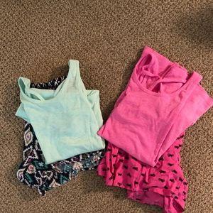 2 Sets Xhilaration Tank/Shorts Pajama's - XS